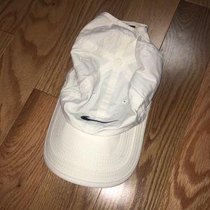 White Nike Dri-Fit Running Hat